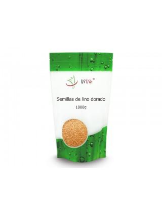 Semillas de lino dorado 1000g