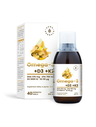 Omega 3 + D3 + K2 -...