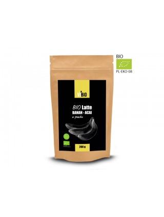 Bio Latte Plátano - Acai 200g