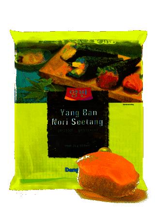 Hojas de Nori para Sushi...