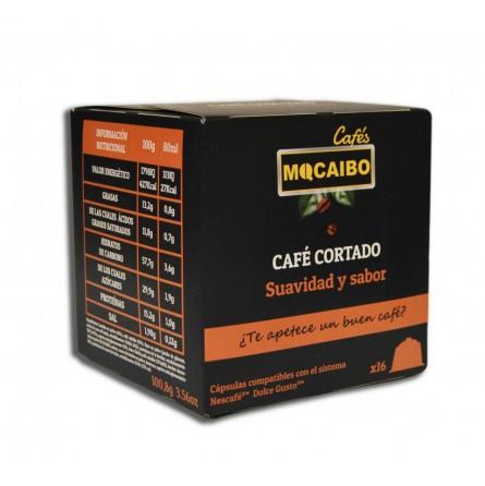 16 CÁPSULAS CAFÉ CORTADO - COMPATIBLES DOLCE GUSTO